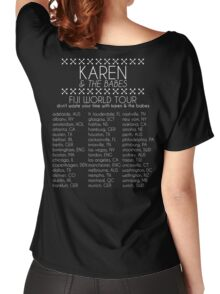 Karen & The Babes World Tour Women's Relaxed Fit T-Shirt