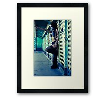 you Framed Print