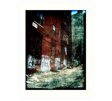 New York City Backyard Art Print