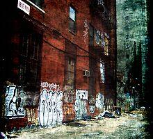 New York City Backyard by Benedikt Amrhein