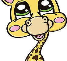 giraffe by BoYusya