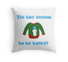 Ugly Sweater Throw Pillow