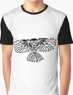 Owl Tribal Design  Graphic T-Shirt