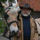 """""""Dieter"""" Fjord horse with Bart by patjila"""