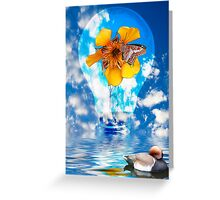 Flowering Bulb  Greeting Card