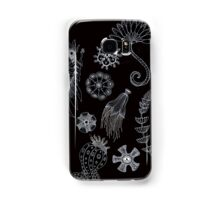 Sea Ballet in Black and White with Apologies to Ernst Haeckel Samsung Galaxy Case/Skin