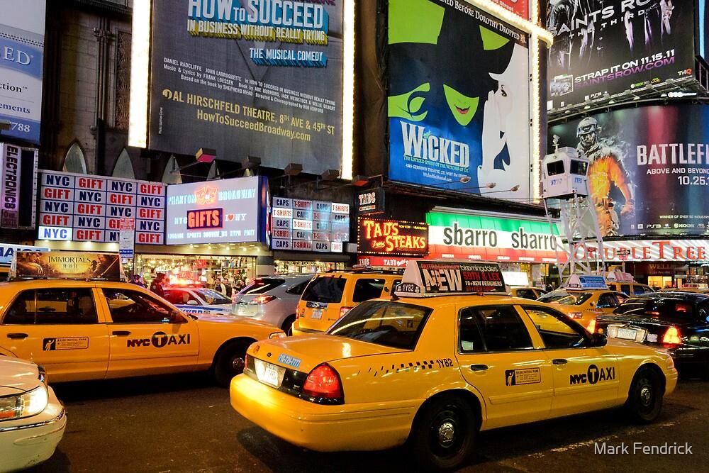 Broadway Traffic by Mark Fendrick