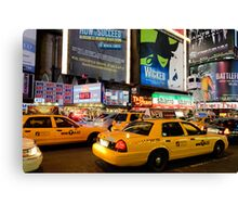 Broadway Traffic Canvas Print