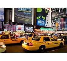 Broadway Traffic Photographic Print