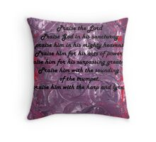 Psalm 150 Throw Pillow