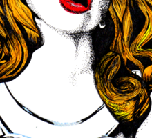 The Lady II Sticker