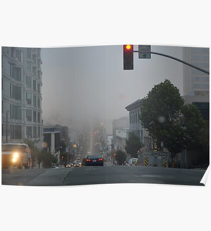 San Francisco Stop Light  Poster
