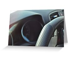 VW Golf R 2012 Greeting Card