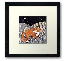 Messenger Fox Framed Print