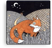 Messenger Fox Canvas Print