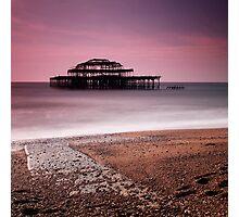 Old Brighton Pier Photographic Print