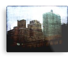 The New Yorker Metal Print