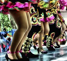 Colombian Folk Dancers by SuddenJim