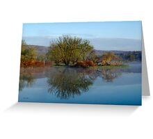 Peaceful Reflection Landscape Greeting Card