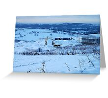 Be There Treasure In Thy Snowy Realm? Greeting Card
