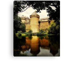 A French Chateau. Canvas Print