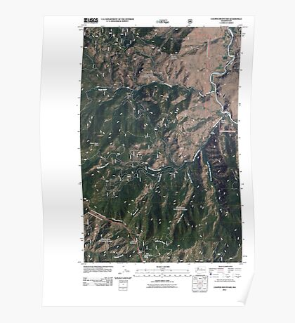 USGS Topo Map Washington State WA Cooper Mountain 20110509 TM Poster