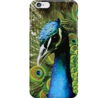 BEAUTIFUL FREAKY COLOURFUL PEACOCK iPhone Case/Skin