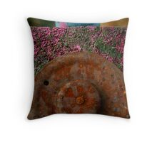 The Colors of Rust & Weather Throw Pillow
