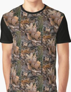 Frosty Leaves  Graphic T-Shirt