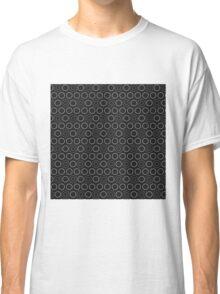 Pattern in circles Classic T-Shirt