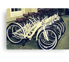 Bikes Bikes Bikes Canvas Print