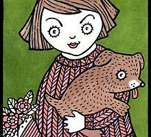 Puppy Hug by Anita Inverarity