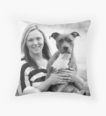 Ashly and Mary Jane ~ Throw Pillow