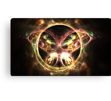 Jeweled Moth Canvas Print