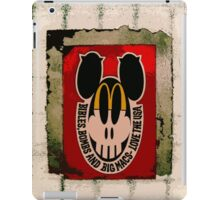 Bibles, Bombs & Big Macs! iPad Case/Skin