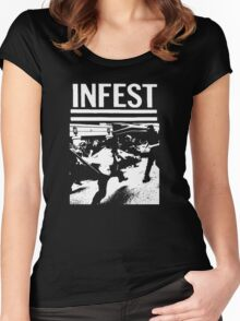 Infest T-Shirt Women's Fitted Scoop T-Shirt