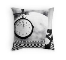Dance As If There Were No Tomorrow... Throw Pillow