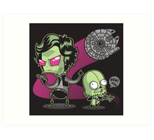 In(VADER) Zolo Art Print