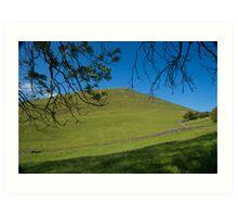 Peak District landscape, Derbyshire Art Print