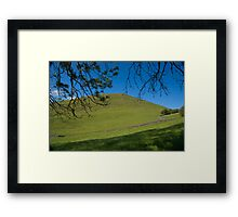 Peak District landscape, Derbyshire Framed Print