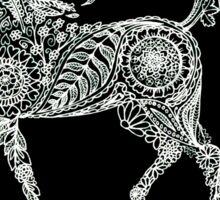 Doodle horse Sticker