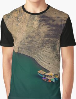 Colourful Boats Graphic T-Shirt