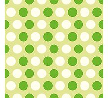 Pattern with circles Photographic Print