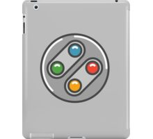 SNES Controller Icon iPad Case/Skin