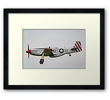 North American P-51D Mustang February Framed Print