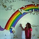 my wish upon the rainbow, Self Portrait by kailani carlson