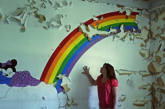 my wish upon the rainbow, Self Portrait by MJD Photography  Portraits and Abandoned Ruins