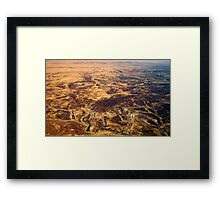 Lake Eyre 9 Framed Print