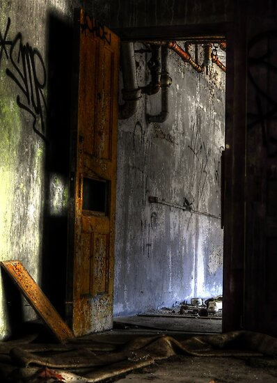 The doorway to my freedom by MJD Photography  Portraits and Abandoned Ruins