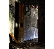 The doorway to my freedom Photographic Print